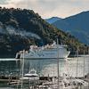Interislander ferry leaving Picton