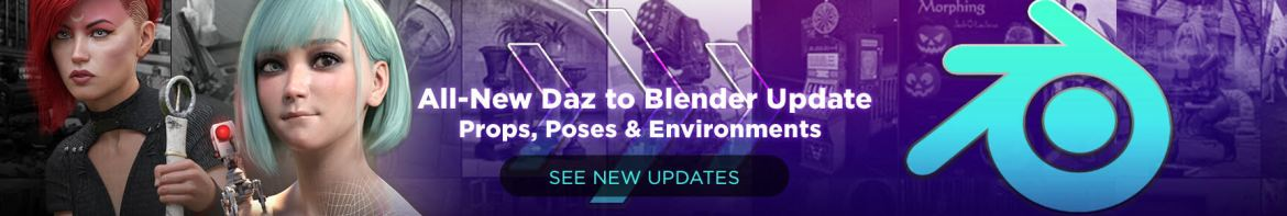 Daz to Blender