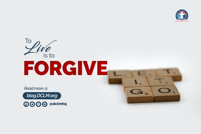 TO LIVE IS TO FORGIVE #InTheseTimes