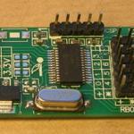 Placa comercial de pruebas del 16F886