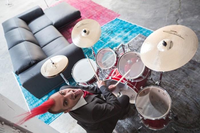 Punk und Schlagzeug
