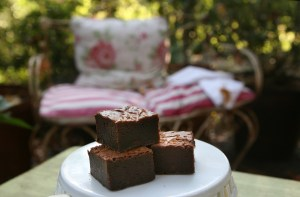 Brownies for afternoon tea