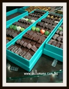 chocolate range