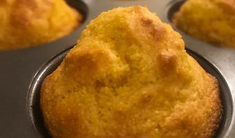 healthy corn muffins
