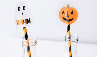Halloween mocktails