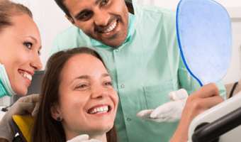 Everybody who's been to the dentist has worked with one, but what exactly are the job duties of a dental assistant?