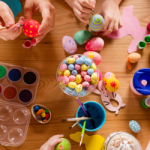These three Spring crafts for kids are fun at any age and come with oral health reminders!