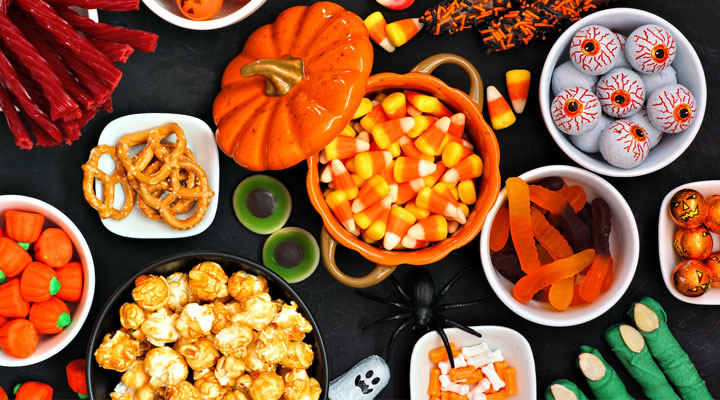 Click to see how we solved the leftover candy conundrum with healthy, simple ways to use your extra Halloween candy.