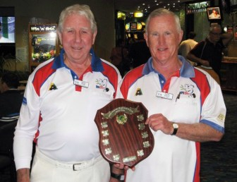 2013 Mens Major Pairs Champions Kevin Ross, Peter Eagle