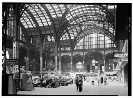 Penn Station as it used to be, Picture from Wikipedia