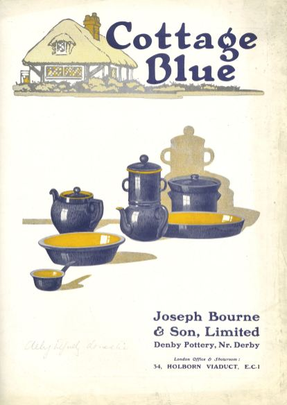 Cottage Blue c.1930 Front Cover