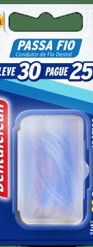Passa fio Dentalclean - 3 acessórios que podem te ajudar na higiene