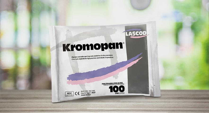 Kromopan: o alginato espertinho