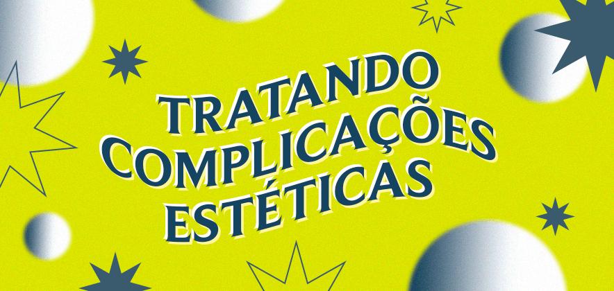 Complicação estética em prótese do tipo protocolo: como tratar?