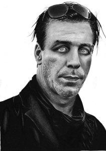 Till Lindemann, representing Rammstein