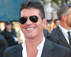 Middle-aged douchebag Simon Cowell