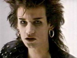 A young Daniel Ash (from Bauhaus)