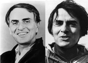 Astronomer and founding Cosmos member, Carl Sagan