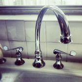 The brand new replacement faucet Kohler send us