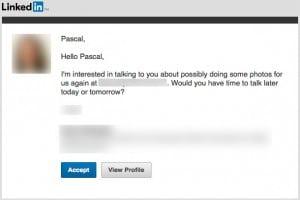 Name in filename - LinkedIn search - job