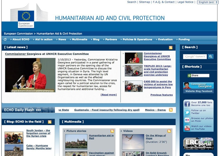 EU government site links to On Wings of Hope film.