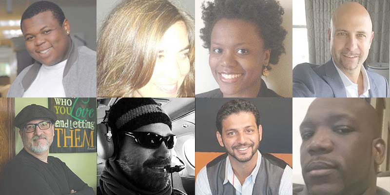 Some of the speakers at WordCamp Miami 2016