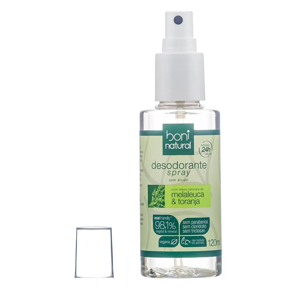 Desodorante Boni Natural vegano ótimo entre produtos naturais
