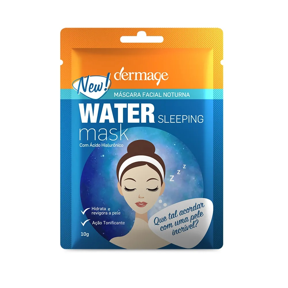 Dermage Water Sleeping Mask Máscara Facial Noturna 10g