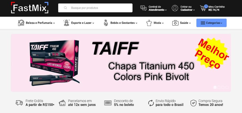 Loja Parceira – FastMix.com.br