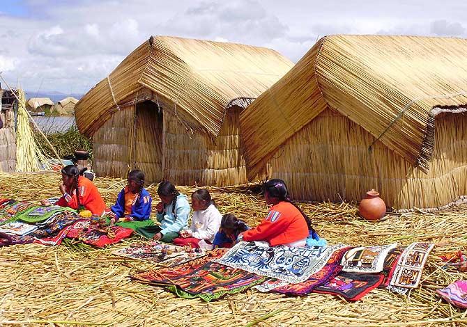 Los Uros Las Islas Flotantes Del Lago Titicaca Blog De