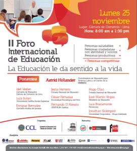Foro Internacional de Educación