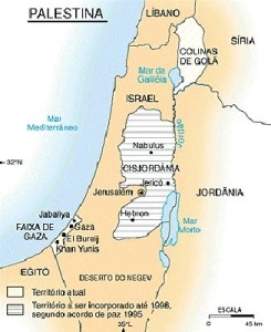 conflicto entre Palestina e Israel