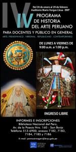 IV Curso Programa de Historia del Arte Peruano