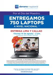 Entrega de Laptops para Lima y Callao