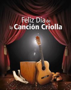 Artistas y compositores de música criolla