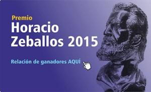 Ganadores del XIV Premio Horacio Zeballos 2015