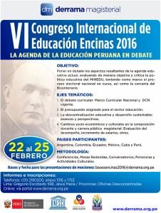 VI Congreso Internacional de Educación Encinas 2016