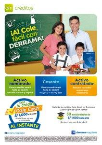 """Campaña de Crédito Escolar """"Al cole fácil con Derrama"""""""