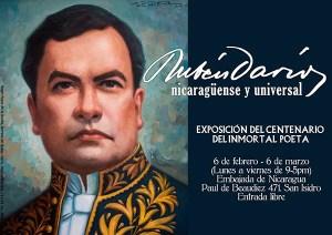 Rubén Darío: Homenaje a 100 años de su fallecimiento