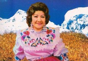 pastorita huaracina - María Dictenia Alvarado Trujillo