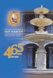 Universidad San Marcos cumplió 465 años