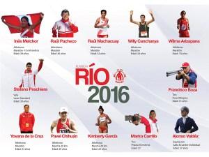 Deportistas peruanos en las Olimpiadas Río 2016