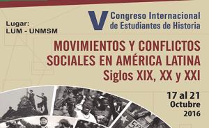 Congreso Internacional de Estudiantes de Historia-VCIEH
