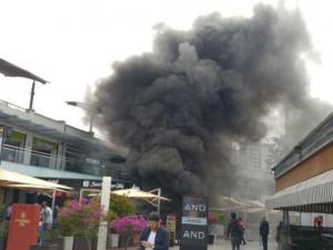 Incendio en Larcomar