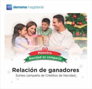 Relación de Ganadores: Campaña de Créditos por Navidad