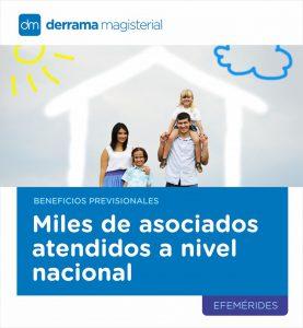 Derrama Magisterial entrega beneficios previsionales a miles de maestros a nivel nacional