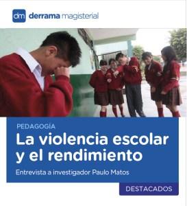 La violencia escolar afecta el rendimiento de los alumnos