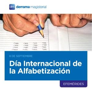 8 de septiembre: Día Internacional de la Alfabetización