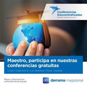 20 de Octubre: Conferencia Educativa Gratuita en Cajamarca