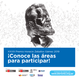 Premio Horacio Zeballos Gámez 2019: Última semana para envío de trabajos